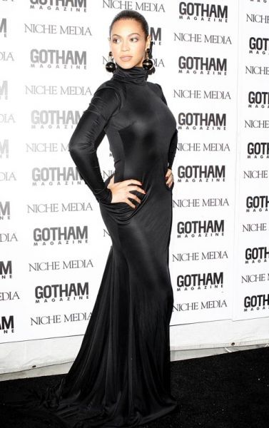 Бейонсе на вечере Gotham Magazine