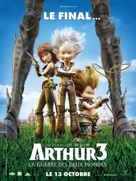 Трейлеры к фильму «Артур и война двух миров»