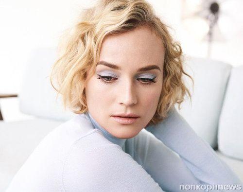 Диана Крюгер снялась в фотосессии для InStyle с дизайнером Джейсоном Ву