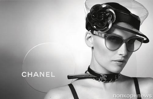 Летиция Каста в рекламной кампании очков Chanel 2013