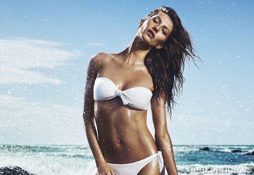 Первый взгляд: Жизель Бундхен в летней рекламной кампании H&M