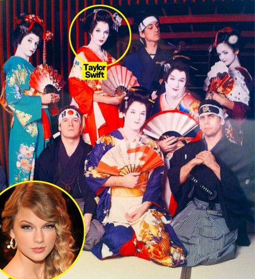 Тэйлор Свифт встретила День Влюбленных в Токио