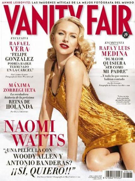Наоми Уоттс в журнале Vanity Fair. Испания. Июнь 2009