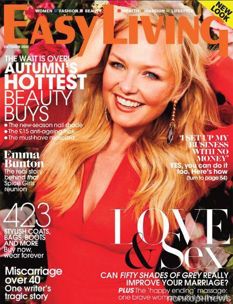 Эмма Бантон в журнале Easy Living. Октябрь 2012