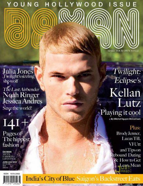 Келлан Латс в Da Man Magazine. Июнь-Июль 2010