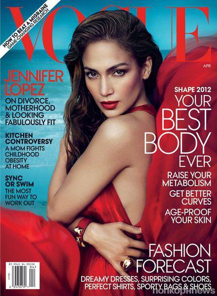 Дженнифер Лопес в журнале Vogue. Апрель 2012