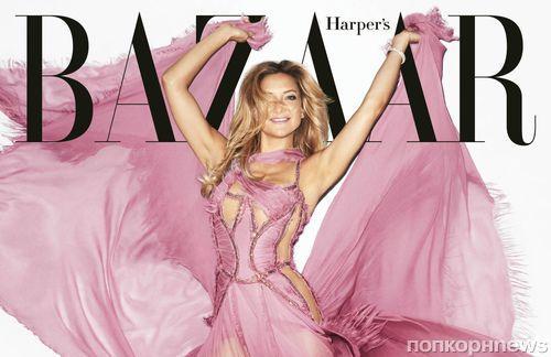 Кейт Хадсон в фотосессии для Harper's Bazaar, декабрь 2015