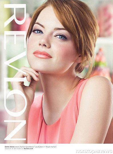 Эмма Стоун в рекламном ролике Revlon