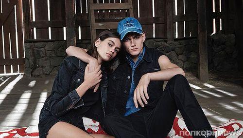 Сын и дочь Синди Кроуфорд снялись в рекламной кампании Calvin Klein