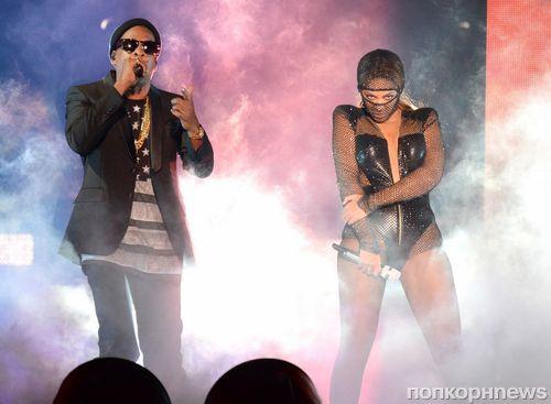 Первый концерт Бейонсе и Jay Z в туре On the Run Tour