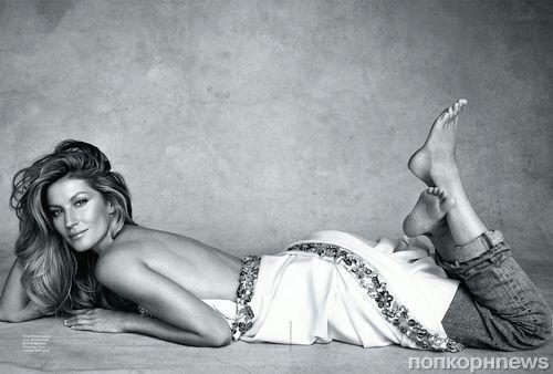 Жизель Бундхен в журнале Vogue Австралия. Январь 2015