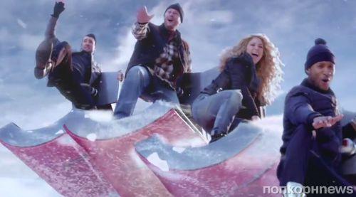 Шакира, Ашер, Адам Левин и Блэйк Шелтон в рекламе The Voice