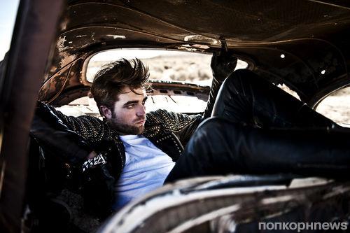 Новые фото Роберта Паттинсона в журнале L'Uomo Vogue. Ноябрь 2012