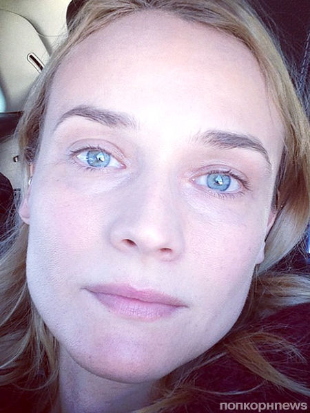 38-летняя Диана Крюгер без макияжа выглядит как подросток