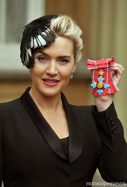 Кейт Уинслет получила орден из рук Елизаветы II