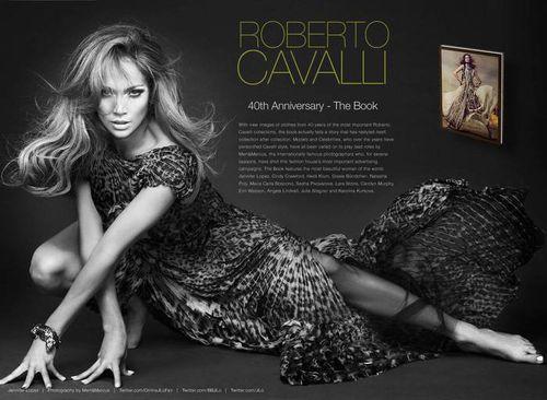 Дженнифер Лопес для Roberto Cavalli