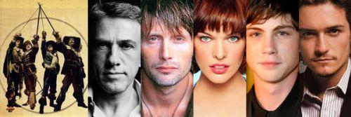Актерский состав «Трех мушкетеров» пополняется громкими именами