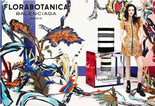 Новые кадры рекламной кампании аромата Florabotanica с Кристен Стюарт