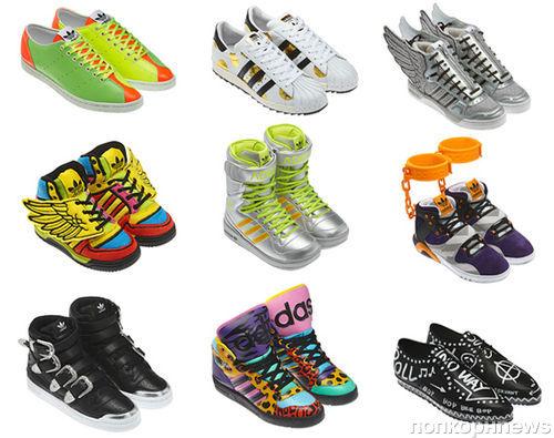 Незабываемые кроссовки Джереми Скотта для Adidas Originals