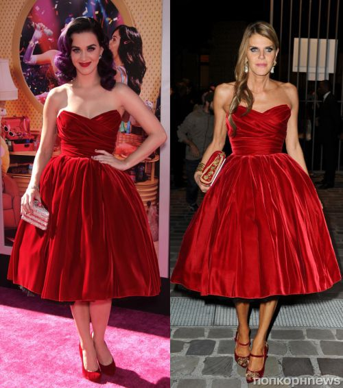 Fashion battle: Кэти Перри и Анна Делло Руссо