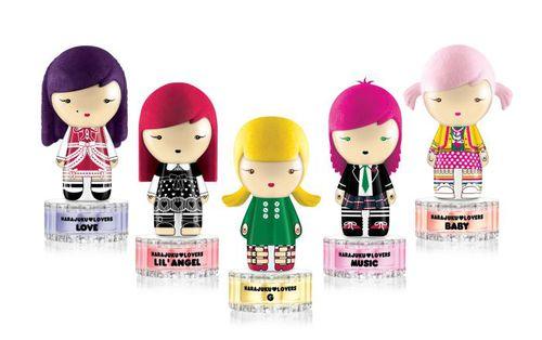 Новая коллекция ароматов от Гвен Стефании Harajuku Lovers