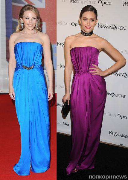 Fashion battle: Кайли Миноуг и Эмми Россум