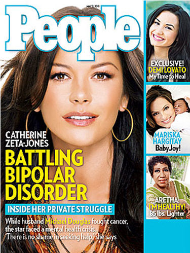 Кэтрин Зета-Джонс о биполярном расстройстве