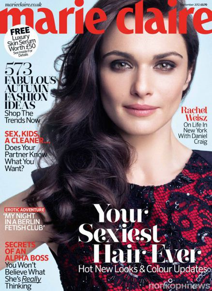 Рэйчел Вайс в журнале Marie Claire Великобритания. Сентябрь 2012