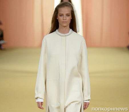 Модный показ новой коллекции Hermès. Весна / лето 2015