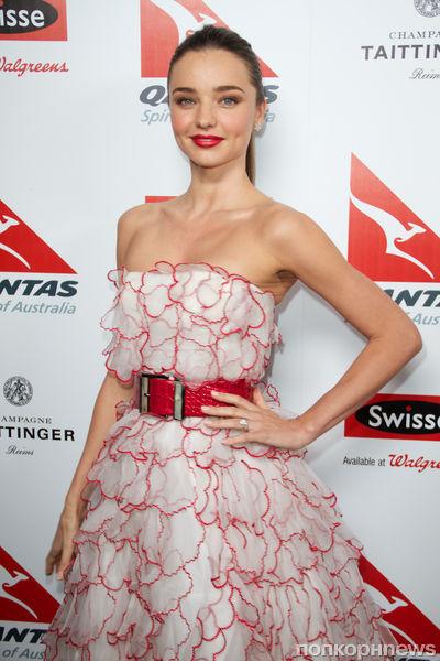 Звезды на вечеринке Qantas Airways