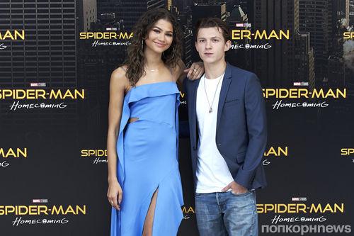 Звезды «Человека-паука» Том Холланд и Зендая встречаются