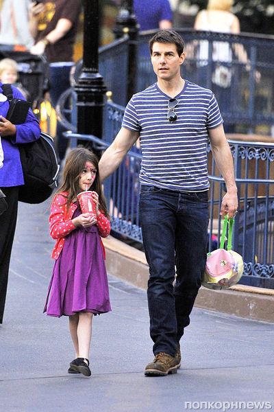 Том Круз провел День благодарения с дочкой