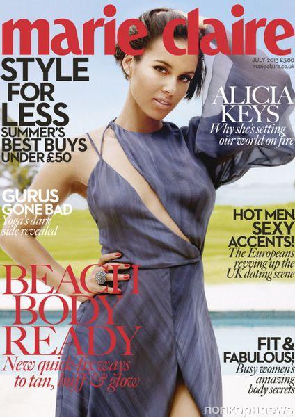 Алиша Кис в журнале Marie Claire Великобритания. Июль 2013