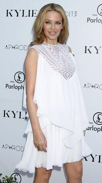 Кайли Миноуг представила свой новый альбом Ибице