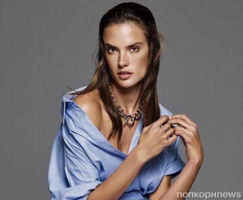 Алессандра Амбросио в журнале Glamour. Декабрь 2015