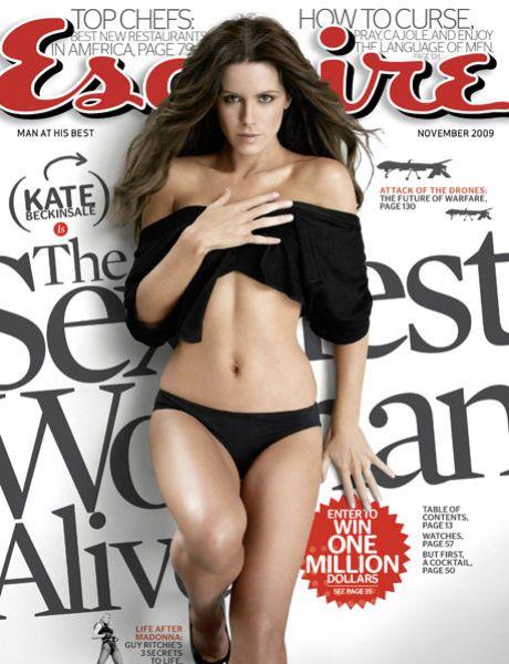 Кейт Бекинсэйл в журнале Esquire. Ноябрь 2009