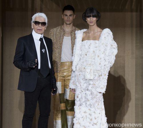 Модный показ новой коллекции Chanel Haute Couture. Весна / лето 2016