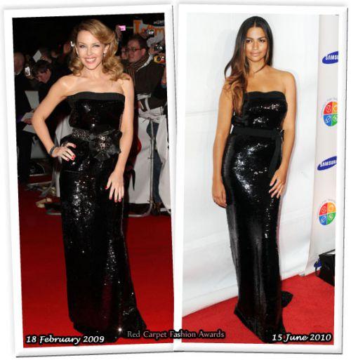 Fashion battle: Кайли Миноуг и Камилла Альвес