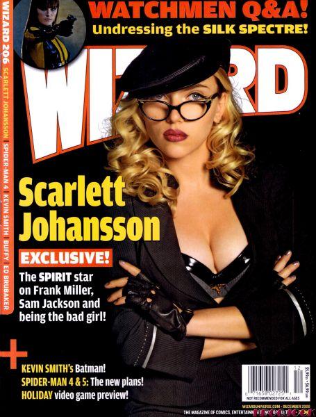 Скарлетт Йоханссон в журнале Wizard