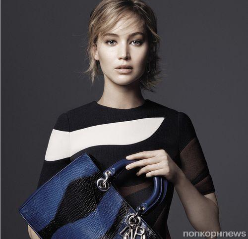 Дженнифер Лоуренс снялась в новой рекламной кампании Christian Dior