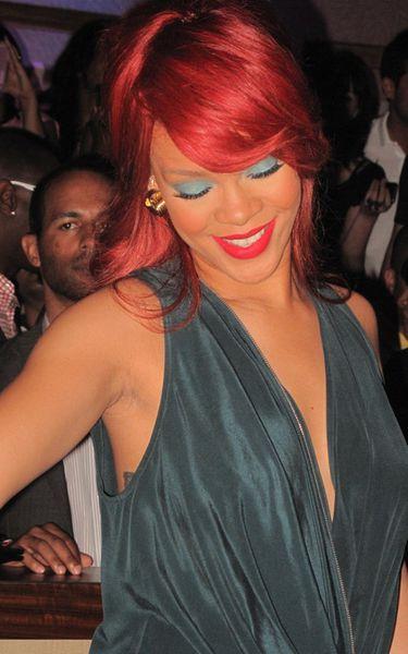 Рианна в клубе Nikki Beach в Лас-Вегасе