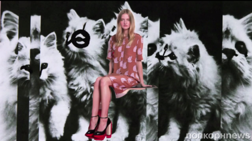 Рекламный ролик модной линии Victoria от Виктории Бэкхем