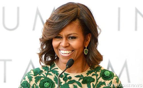 Мишель Обама записала песню со звездами шоу-бизнеса
