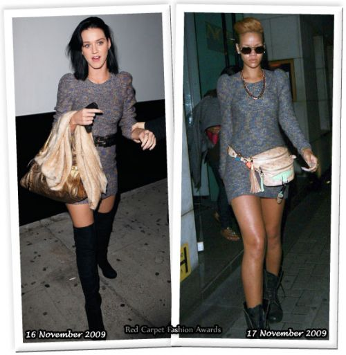 Fashion battle: Кэти Перри и Рианна