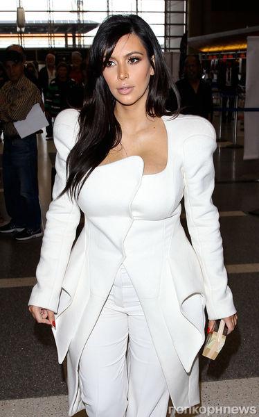 Ким Кардашян завела блог о моде для беременных