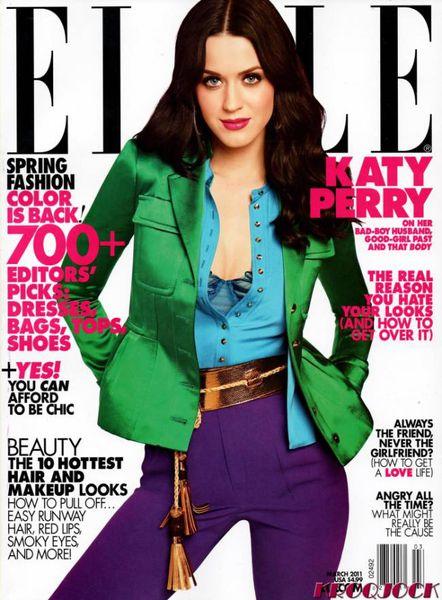 Кэти Перри в журнале Elle. США. Март 2011