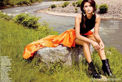 Нина Добрев в журнале Cosmopolitan. Сентябрь 2013