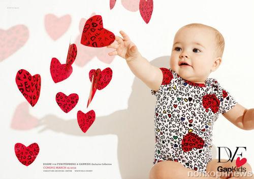 Детская коллекция Diane von Furstenberg для Gap Kids