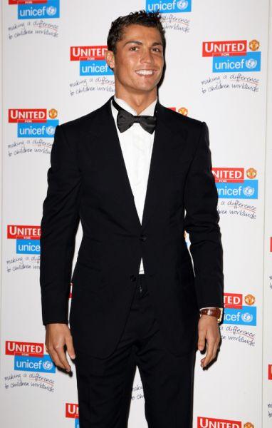 Криштиану Роналду на мероприятии UNICEF
