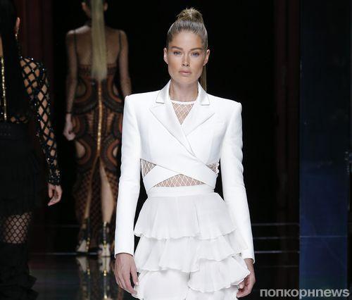 Модный показ новой коллекции Balmain. Весна / лето 2016